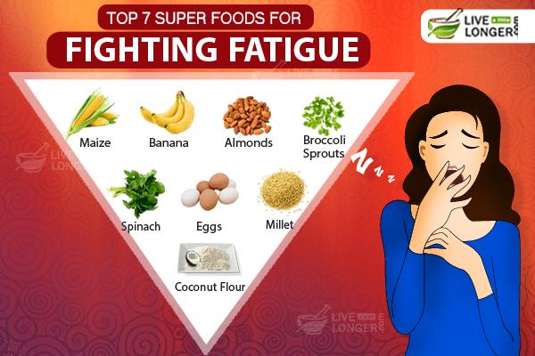 top 7 super foods that can fight fatigue and energize you
