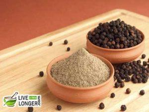 black pepper for dengue
