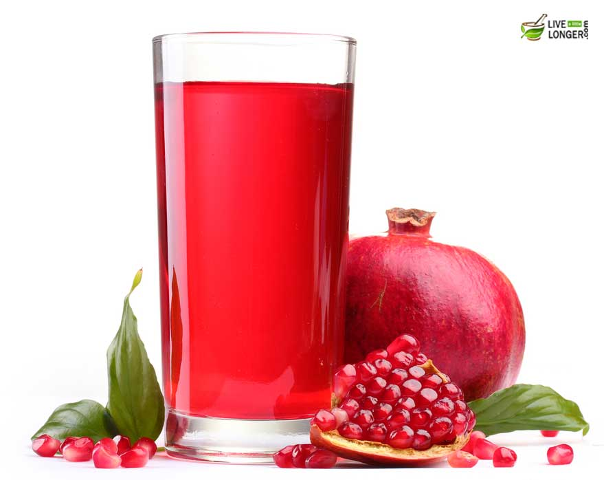 pomegranate juice for dengue