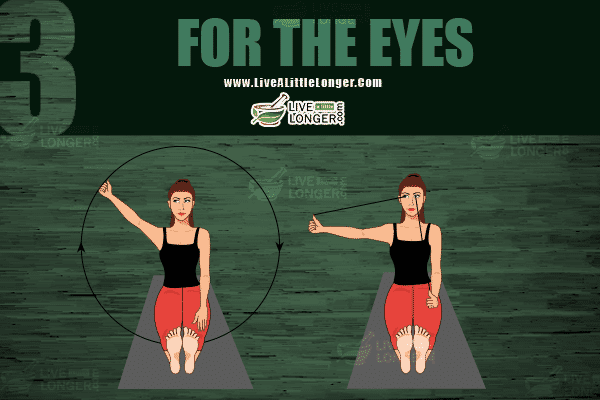 Exercises for maintaining same vision power
