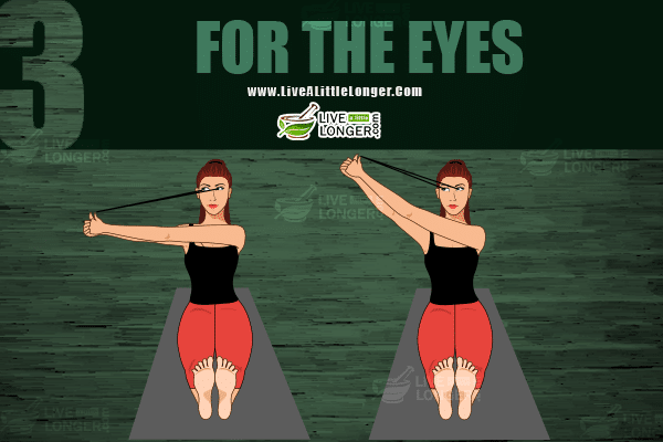 Eye exercises for keeping eyes healthy