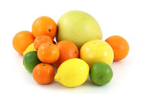 citrus fruits - for immunity on winter