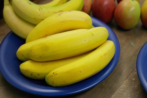 easy available fruit but cannot be taken on empty stomach
