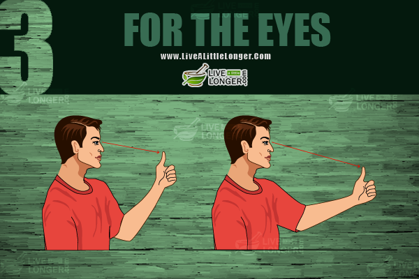simple eye exercises for better eye sight
