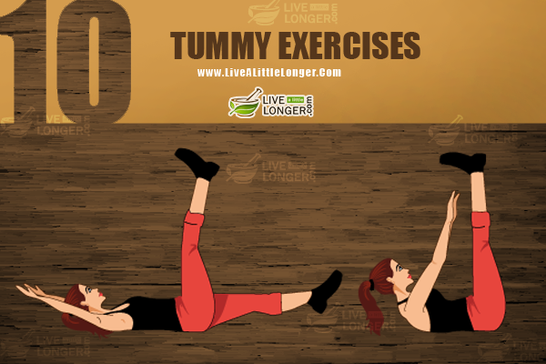 tummy exercises for straight spine