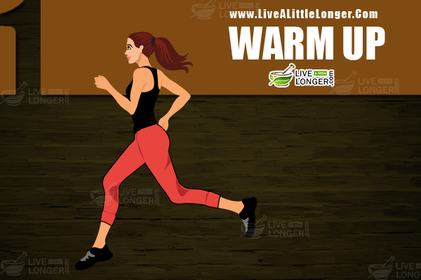 warm up exercises for staying healthy