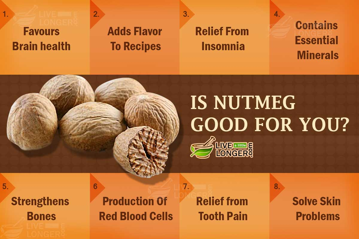is nutmeg good for you