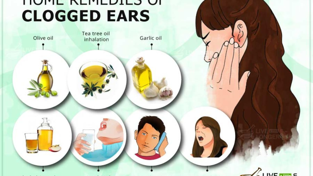 Clogged Ears (Ear Congestion) - How to unclog with home remedies
