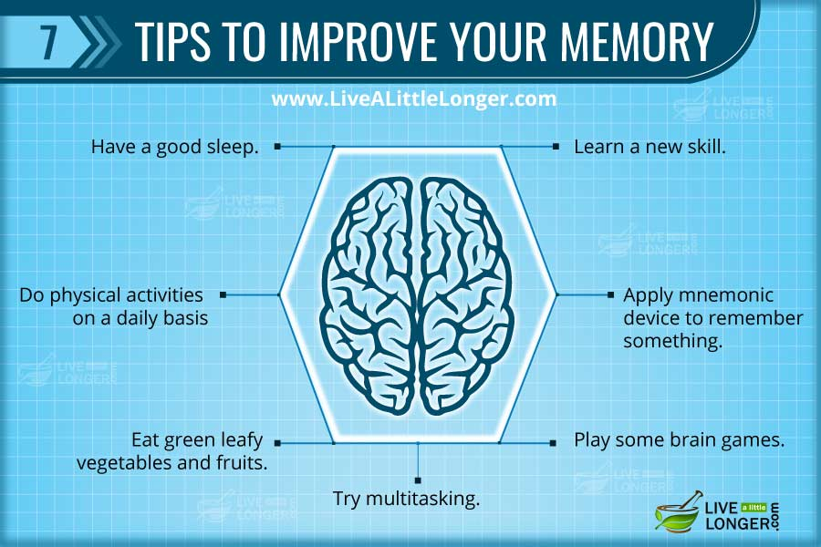 Three ways to improve memory