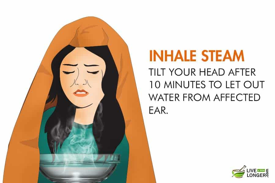 How to get water out of the ears