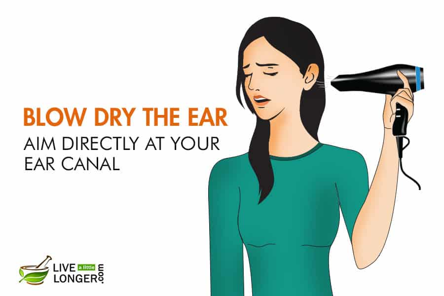 how to get rid of fluid in ear