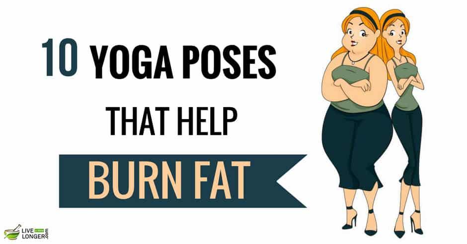 Yoga Poses That Burn Fat