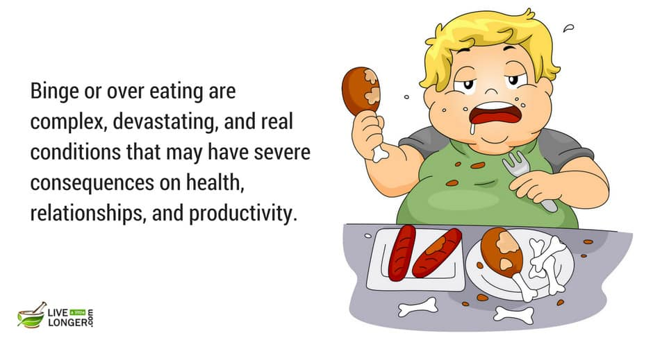 most common eating problems