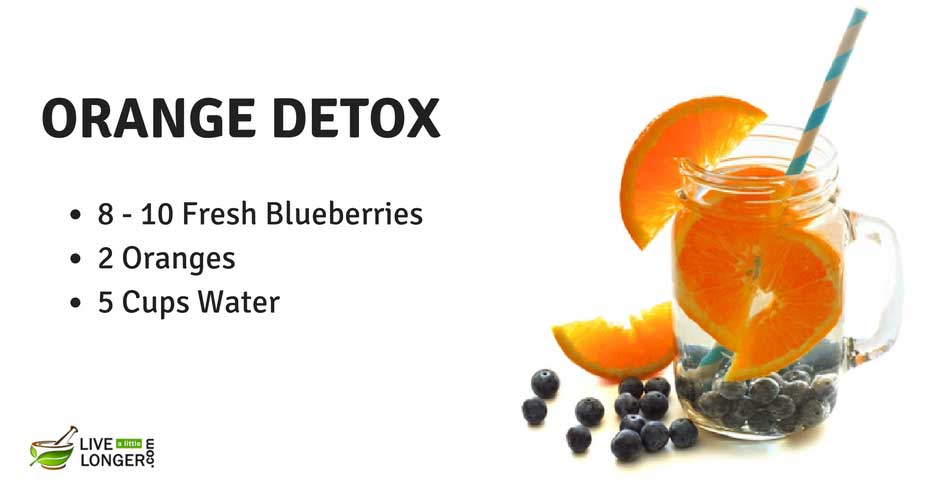 detox fruit water recipes