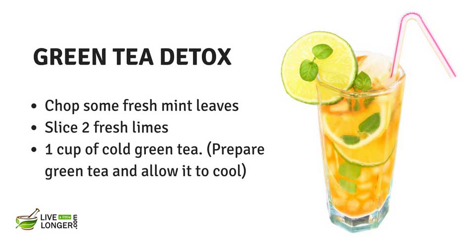 detox water recipes to lose weight