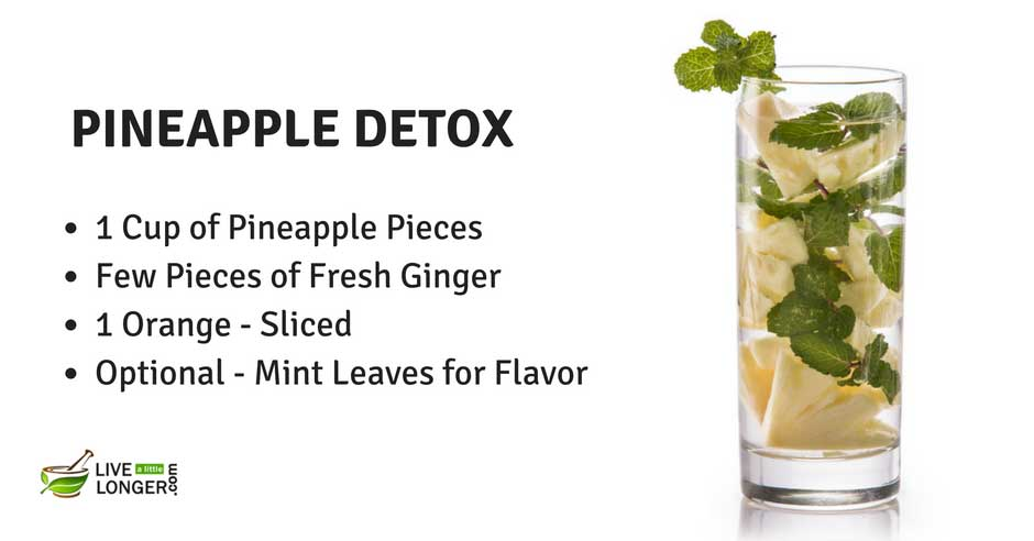 detox water recipes to lose weight naturally