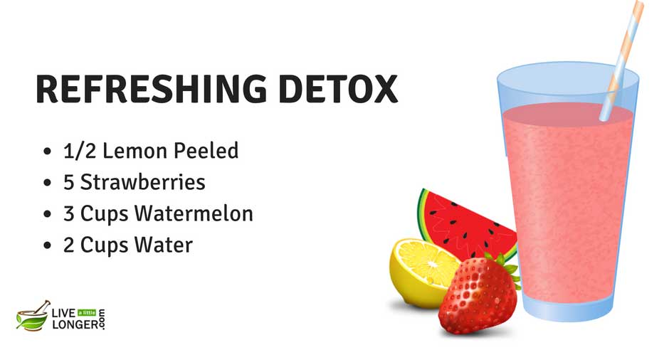 easy detox water recipes