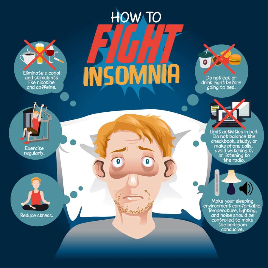 how to fight insomnia naturally