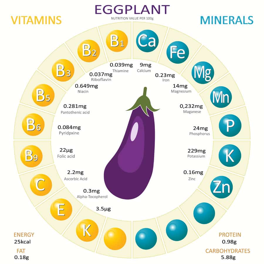 benefits of eggplant