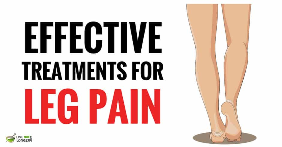 natural remedies for leg pain