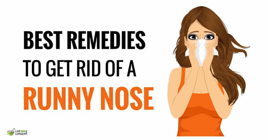 10 Best Home Remedies For Runny Nose