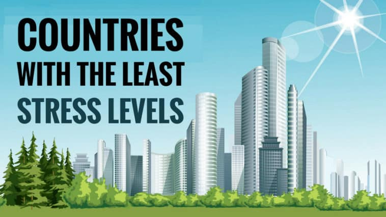 countries with low stress levels