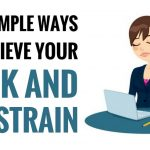 best ways to relieve neck and eye strain
