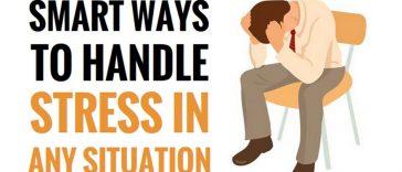 smart ways to handle stress