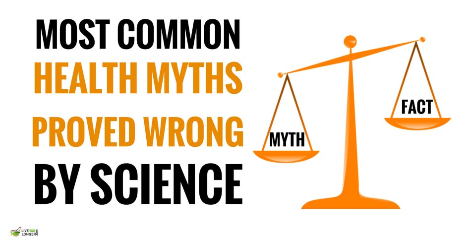 most Common Health Myths