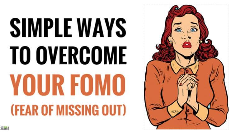 best ways to overcome fomo