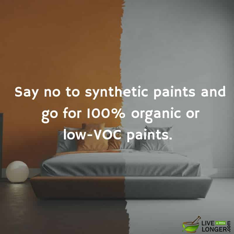 VOC free paints for detox