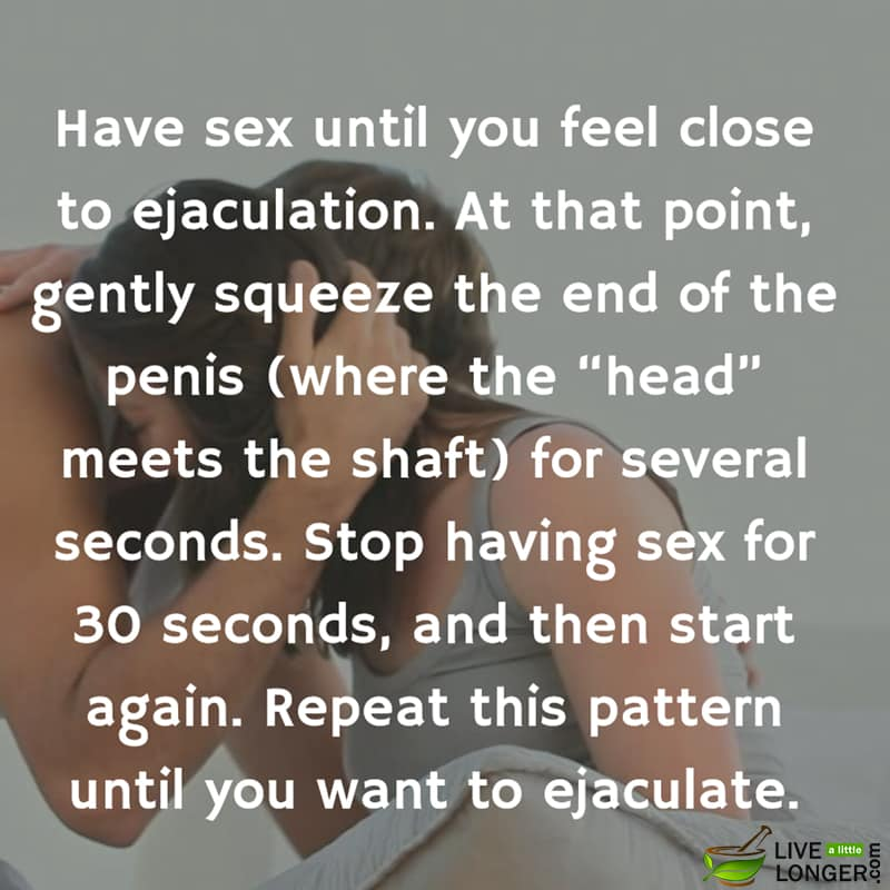 Tip-1 to Stop Premature Ejaculation