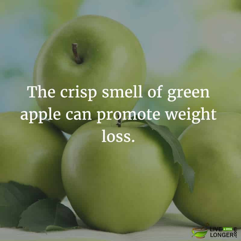 mood boosting green apple
