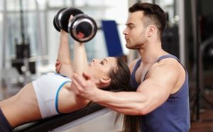 Work With a Personal Fitness Trainer