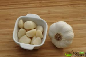 Garlic Clove for abscess tooth with swollen face