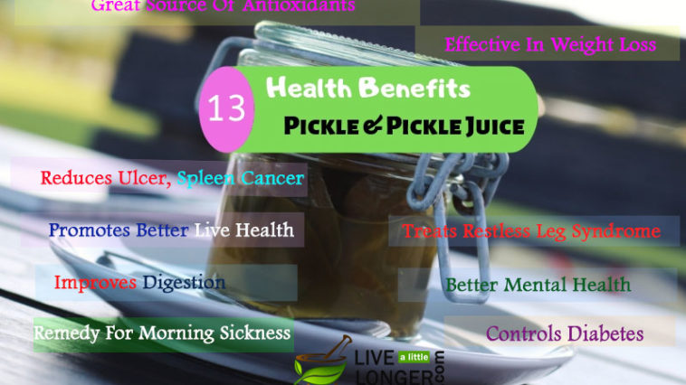 health benefits of pickle