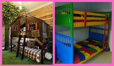 bunk beds theme based