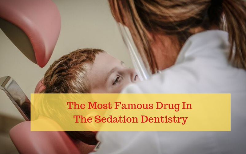 The most commonly used dental sedative is midazolam